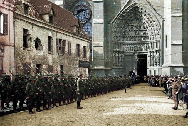 Fotos coloridas da Primeira Guerra Mundial 17
