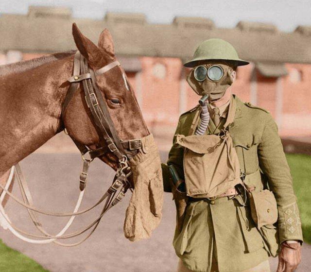 Fotos coloridas da Primeira Guerra Mundial 18