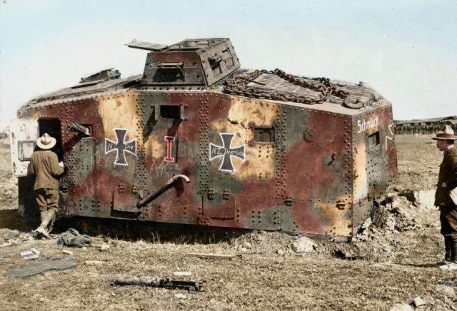 Fotos coloridas da Primeira Guerra Mundial 19