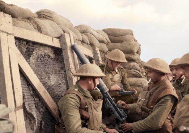 Fotos coloridas da Primeira Guerra Mundial 20