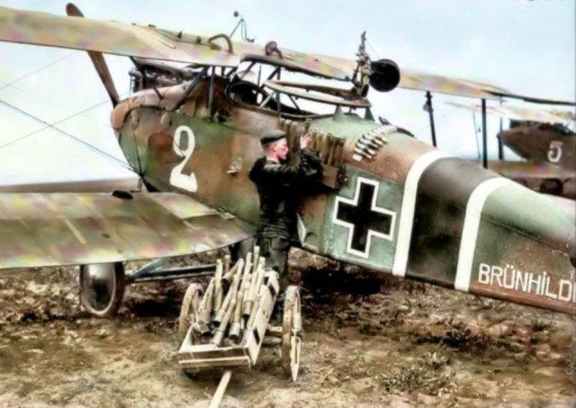 Fotos coloridas da Primeira Guerra Mundial 21