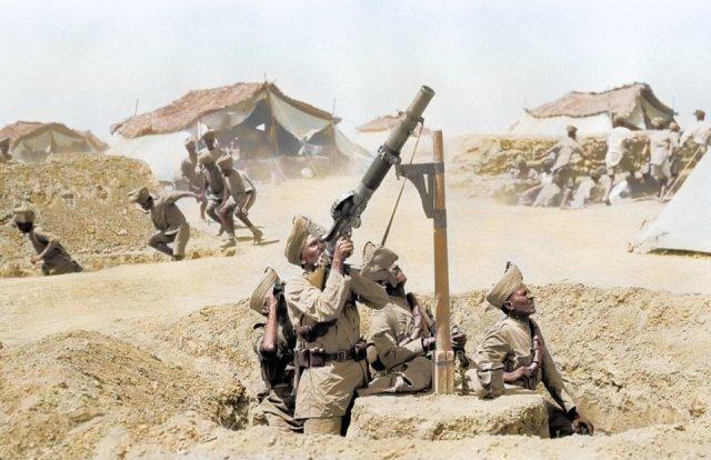 Fotos coloridas da Primeira Guerra Mundial 22