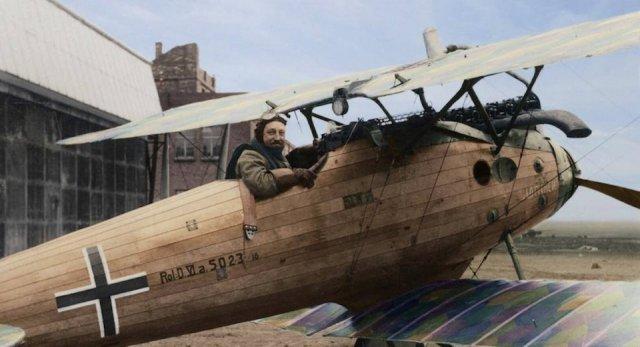 Fotos coloridas da Primeira Guerra Mundial 23