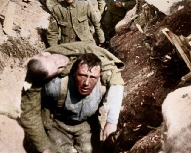 Fotos coloridas da Primeira Guerra Mundial 24