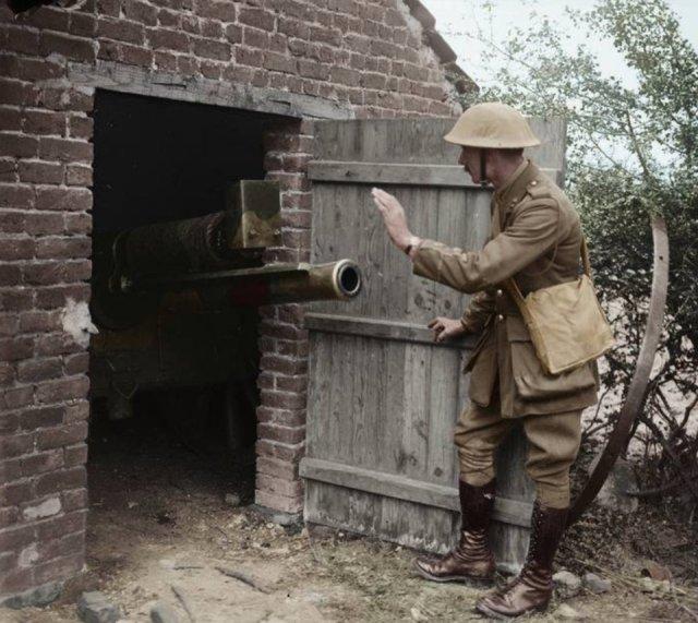 Fotos coloridas da Primeira Guerra Mundial 25