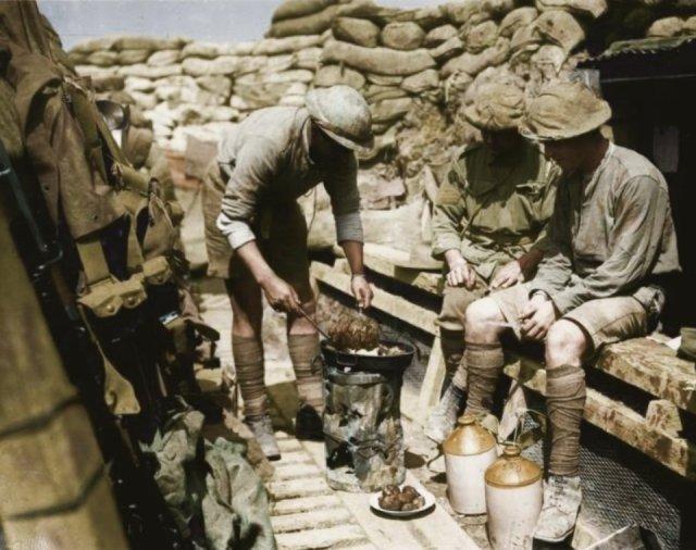 Fotos coloridas da Primeira Guerra Mundial 26