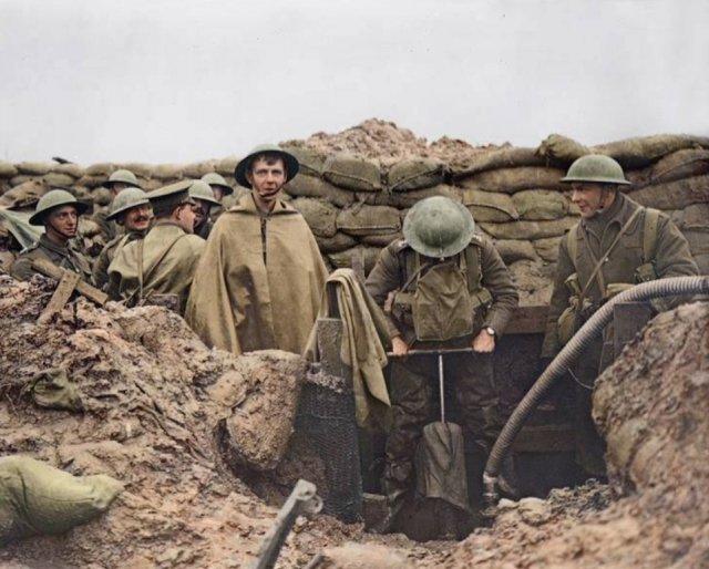 Fotos coloridas da Primeira Guerra Mundial 29