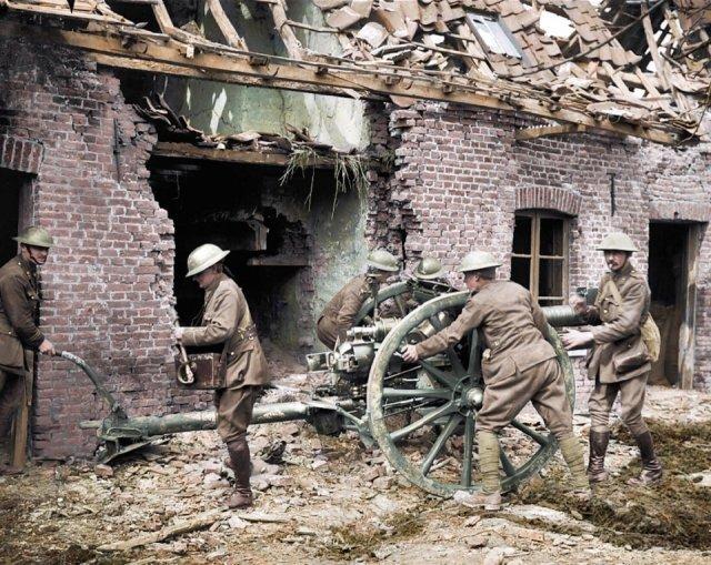Fotos coloridas da Primeira Guerra Mundial 3