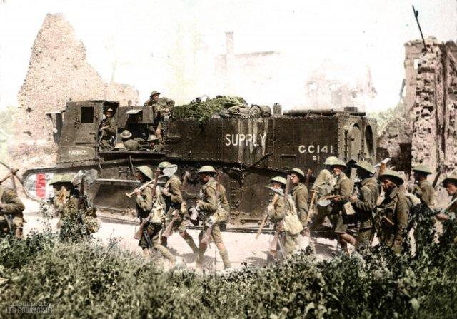 Fotos coloridas da Primeira Guerra Mundial 30