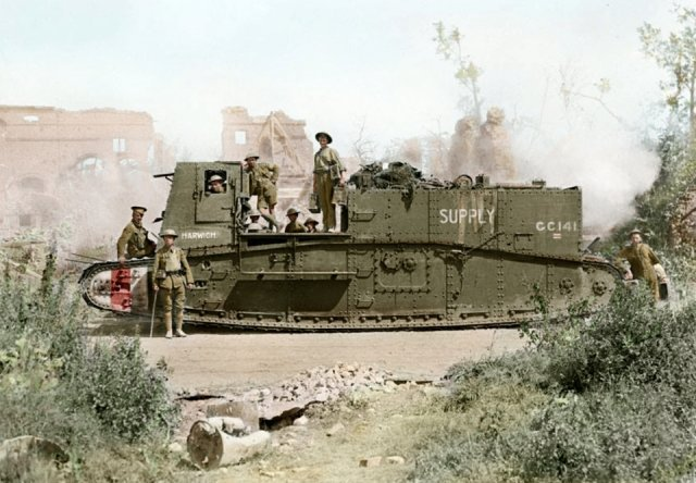 Fotos coloridas da Primeira Guerra Mundial 31