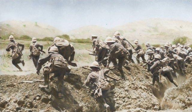Fotos coloridas da Primeira Guerra Mundial 32