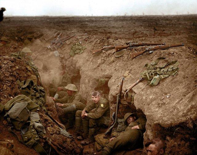Fotos coloridas da Primeira Guerra Mundial 33