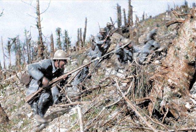 Fotos coloridas da Primeira Guerra Mundial 34