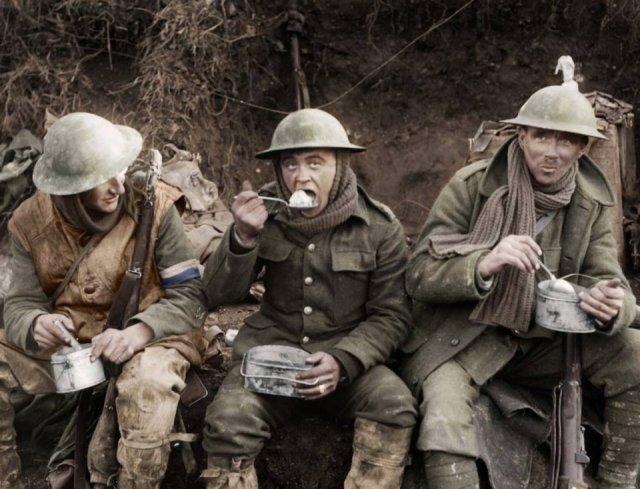 Fotos coloridas da Primeira Guerra Mundial 35