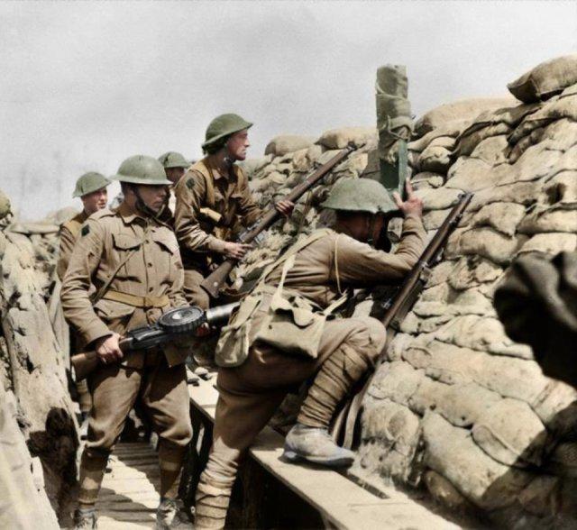 Fotos coloridas da Primeira Guerra Mundial 36