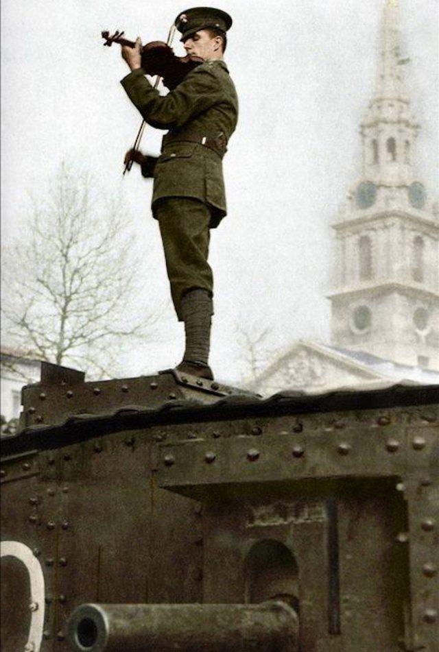 Fotos coloridas da Primeira Guerra Mundial 37