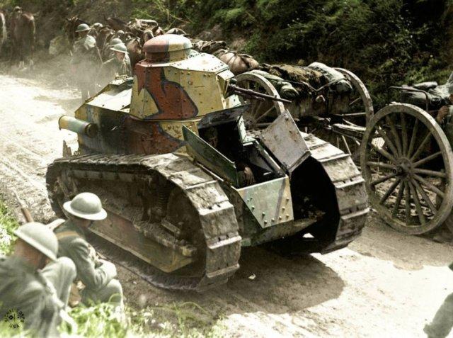 Fotos coloridas da Primeira Guerra Mundial 39