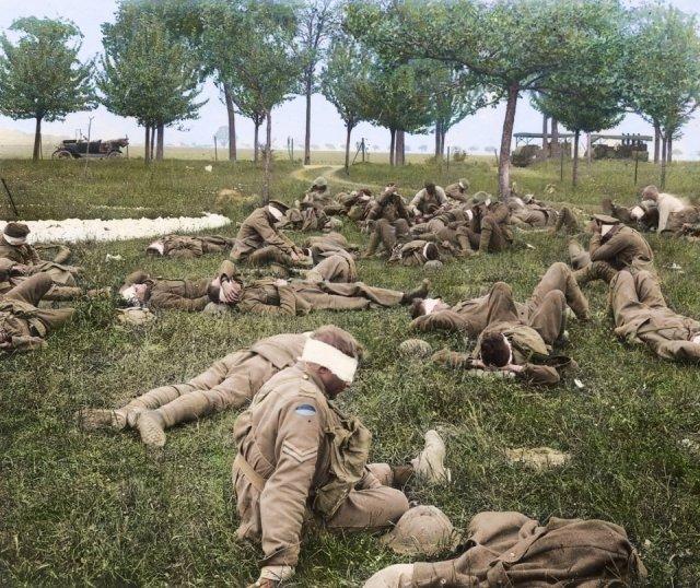 Fotos coloridas da Primeira Guerra Mundial 4