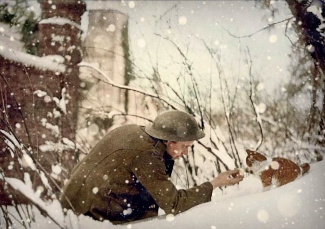 Fotos coloridas da Primeira Guerra Mundial 42