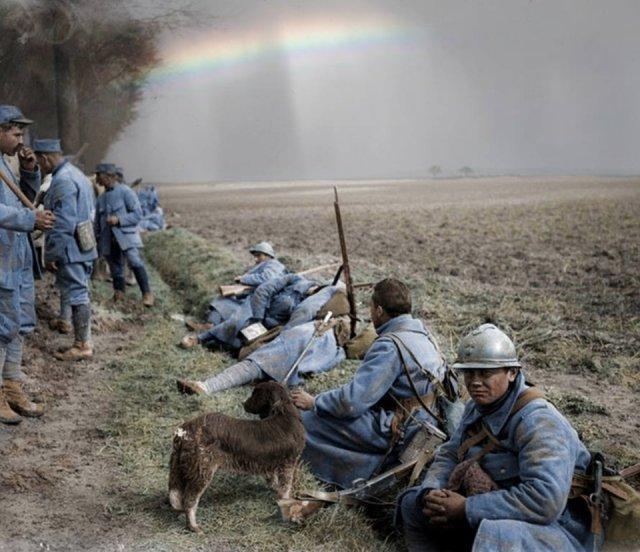 Fotos coloridas da Primeira Guerra Mundial 43
