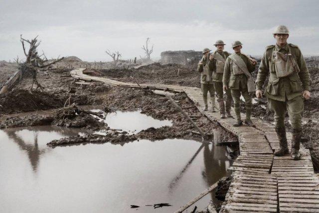Fotos coloridas da Primeira Guerra Mundial 44