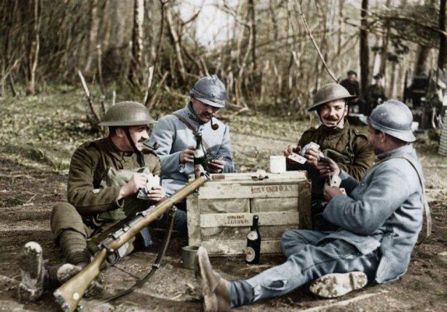 Fotos coloridas da Primeira Guerra Mundial 47
