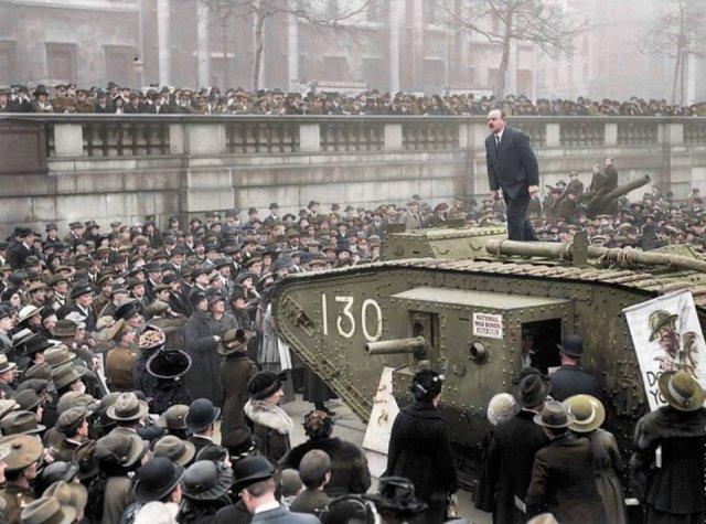 Fotos coloridas da Primeira Guerra Mundial 48