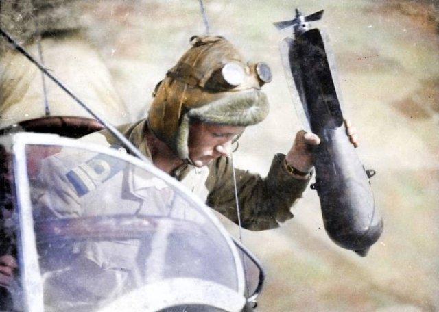 Fotos coloridas da Primeira Guerra Mundial 5