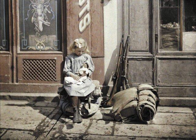 Fotos coloridas da Primeira Guerra Mundial 6