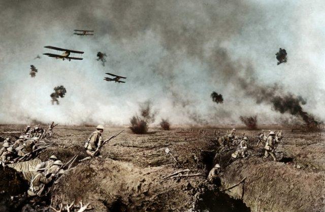 Fotos coloridas da Primeira Guerra Mundial 7