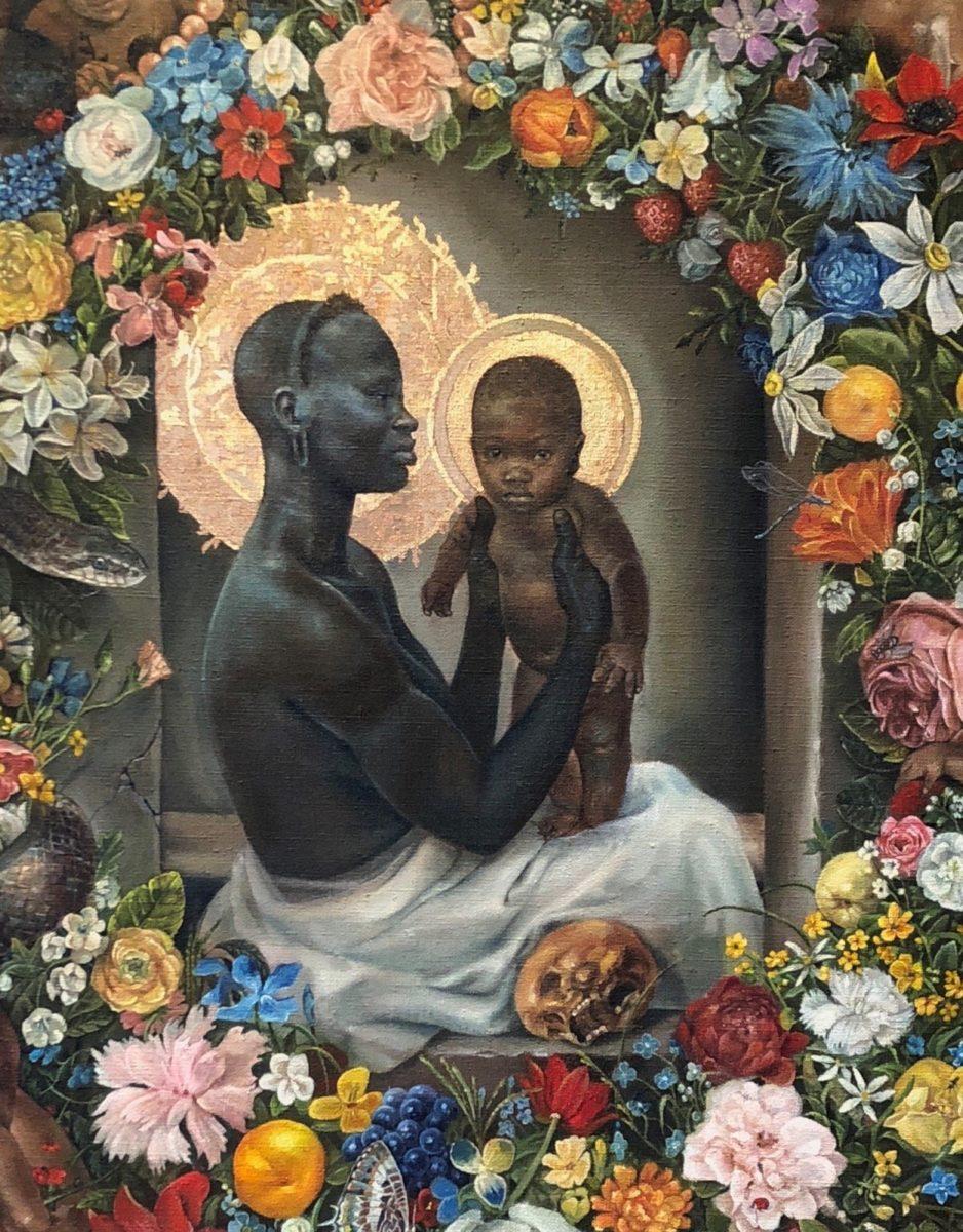 Harmonia Rosales pintora cubana recria obras de arte clássicas com mulheres negras como protagonistas