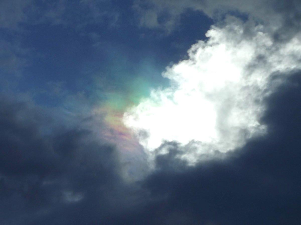Svetlana Kazina fotógrafa russa registra o fenômeno da iridescência no céu 3