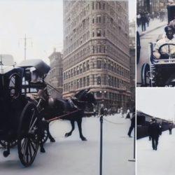 Cidade de Nova York em 4K: vídeo mostra como seria vídeo remasterizado de 1911