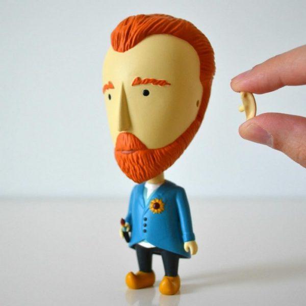 Confira o primeiro Action Figure de Van Gogh com direiro à orelha removível