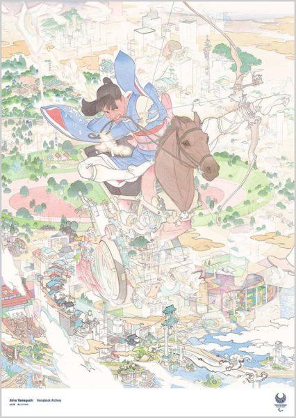 Divulgados pôsteres oficiais dos Jogos Olímpicos de 2020 no Japão
