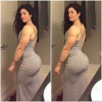 Instagram da Semana Natasha Aughey a beleza na força dos músculos do ícone do mundo fitness