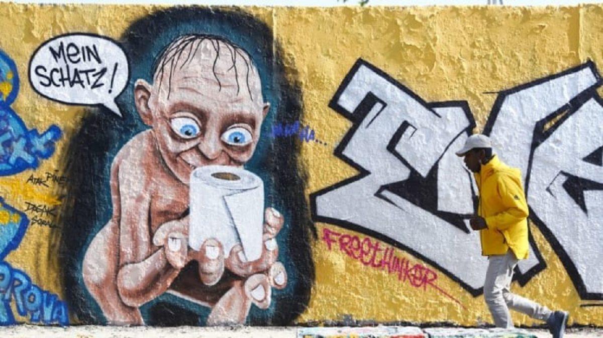 Grafites sobre o Coronavírus confira algumas das artes mais incríveis pelo mundo 2