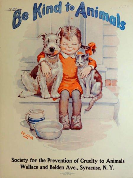 Pôsteres de animais da década de 1930 promovem e reforçam o amor pelos bichinhos