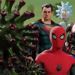 Super-Heróis unidos contra o coronavírus