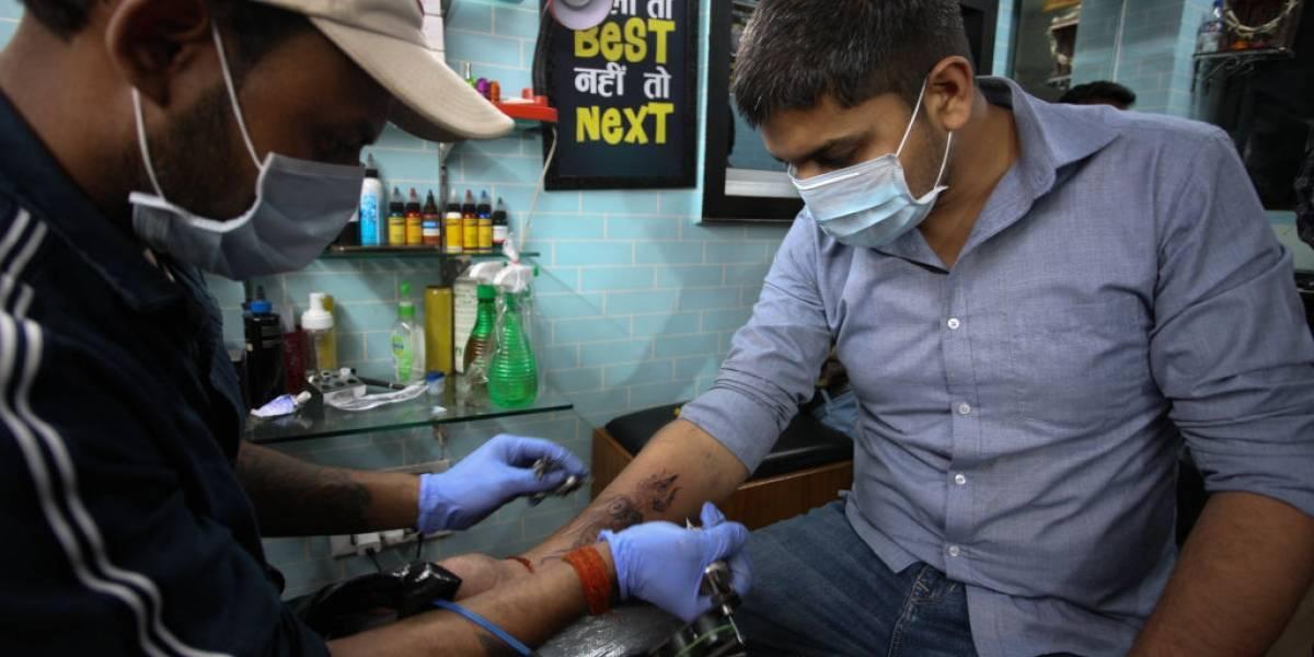 Tatuagem do coronavirus