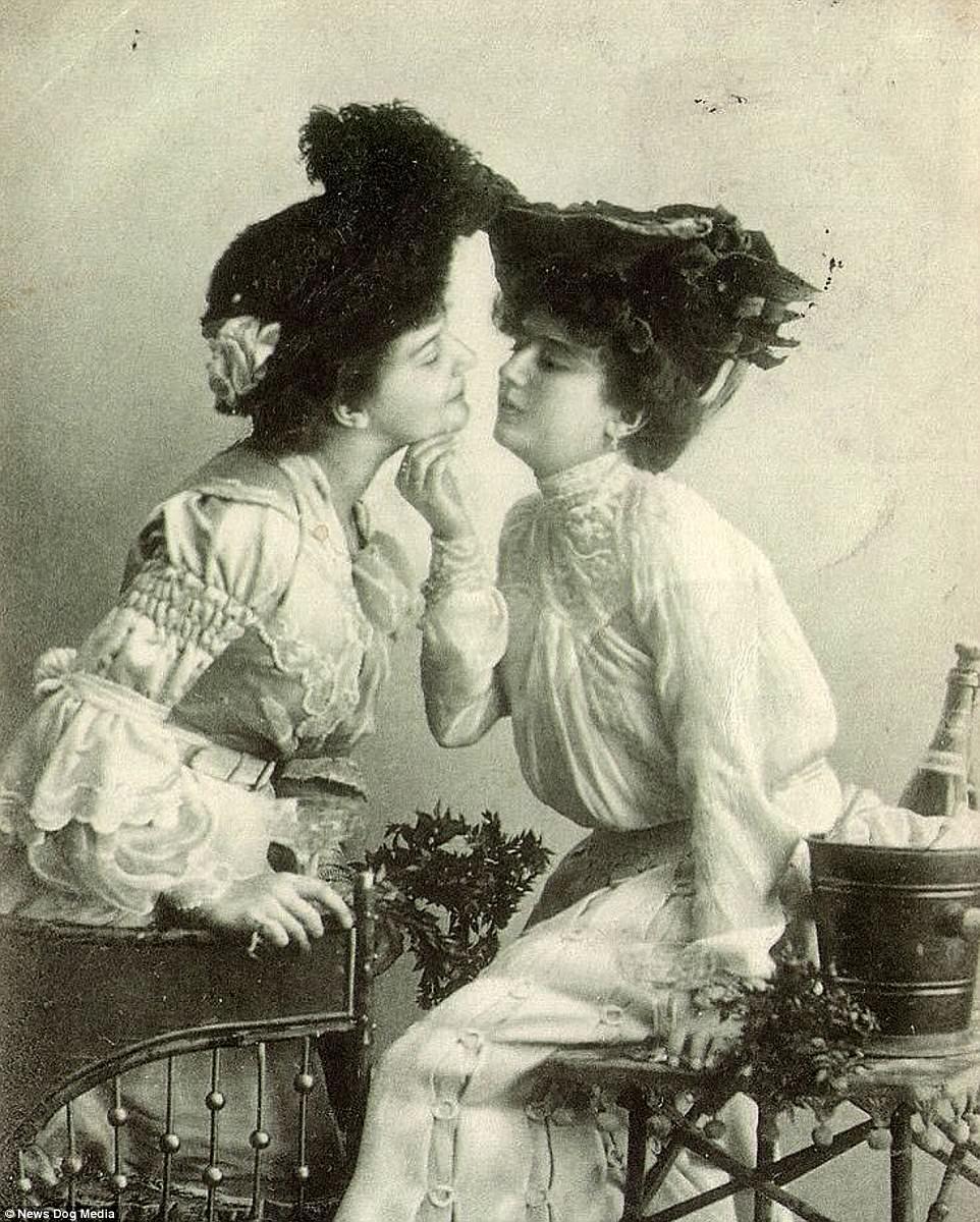 Vintage Lesbian perfil no Pinterest reúne fotografias e ilustrações da cultura lésbica do passado 21