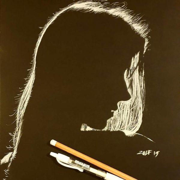 Zulf artista londrino usa carvão e cria arte que nos leva a achar que se trata de uma fotografia 17