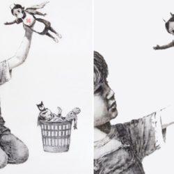 Banksy: artista de rua propõe, através de ilustração, uma nova super-heroína para as crianças