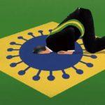 Bolsonaro em charges desdém do presidente com coronavírus foi registrado por ilustradores em veículos estrangeiros