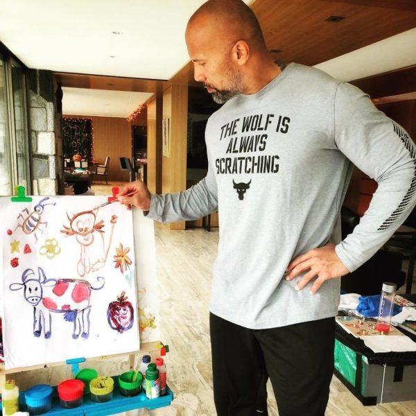 Dwayne Johnson: confira o grandão The Rock mostrando o seu lado mais fofo nas redes sociais