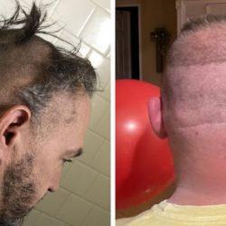 Essas pessoas resolveram cortar o próprio cabelo na quarentena e muito provavelmente se arrependeram logo depois