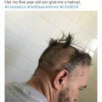 Essas pessoas resolveram cortar o próprio cabelo na quarentena e muito provavelmente se arrependeram logo depois 2