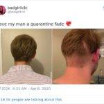 Essas pessoas resolveram cortar o próprio cabelo na quarentena e muito provavelmente se arrependeram logo depois 6