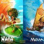 Folclore BR confira uma releitura de pôsters de filmes da Disney com lendas do folclore brasileiro 3