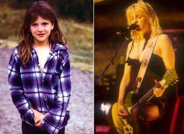 Mini estrelas do rock confira o antes e o depois de alguns dos artistas mais notáveis da cena 59